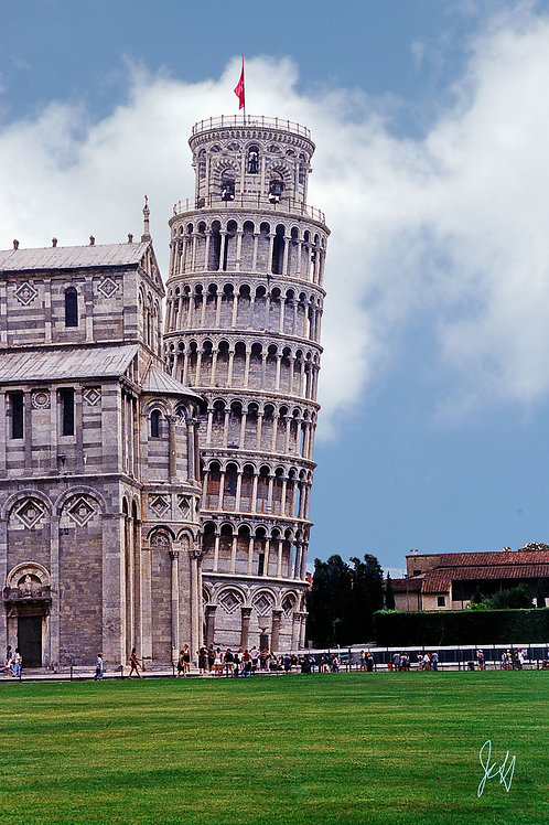 Leaning Tower of Pisa, Italy - John Hutchinson