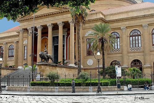 Opera House, Palermo, Sicily - John Hutchinson