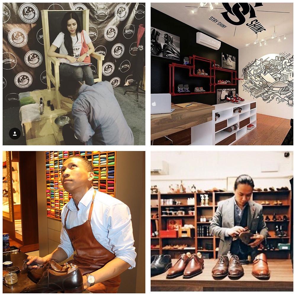 世界の靴磨き職人1