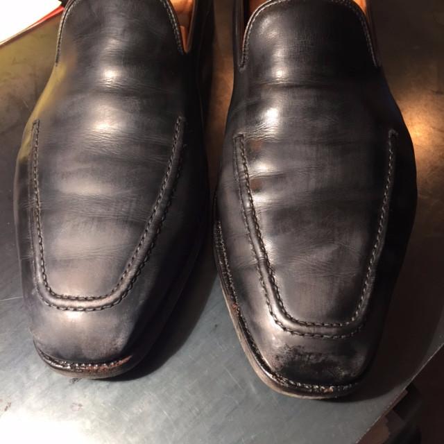 靴磨きBefore1