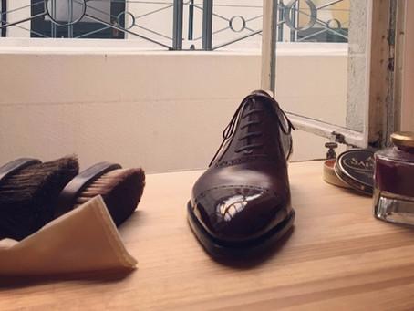 初心者にもやさしい! 靴磨きの手順とセットを解説します!