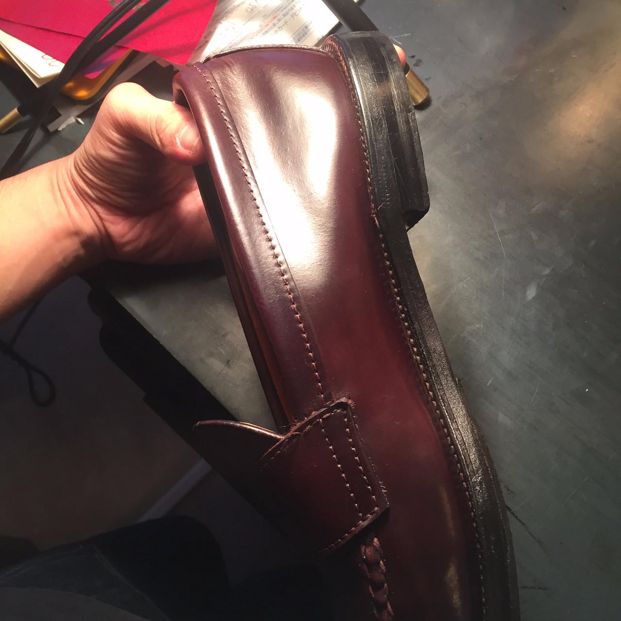 靴磨き After3