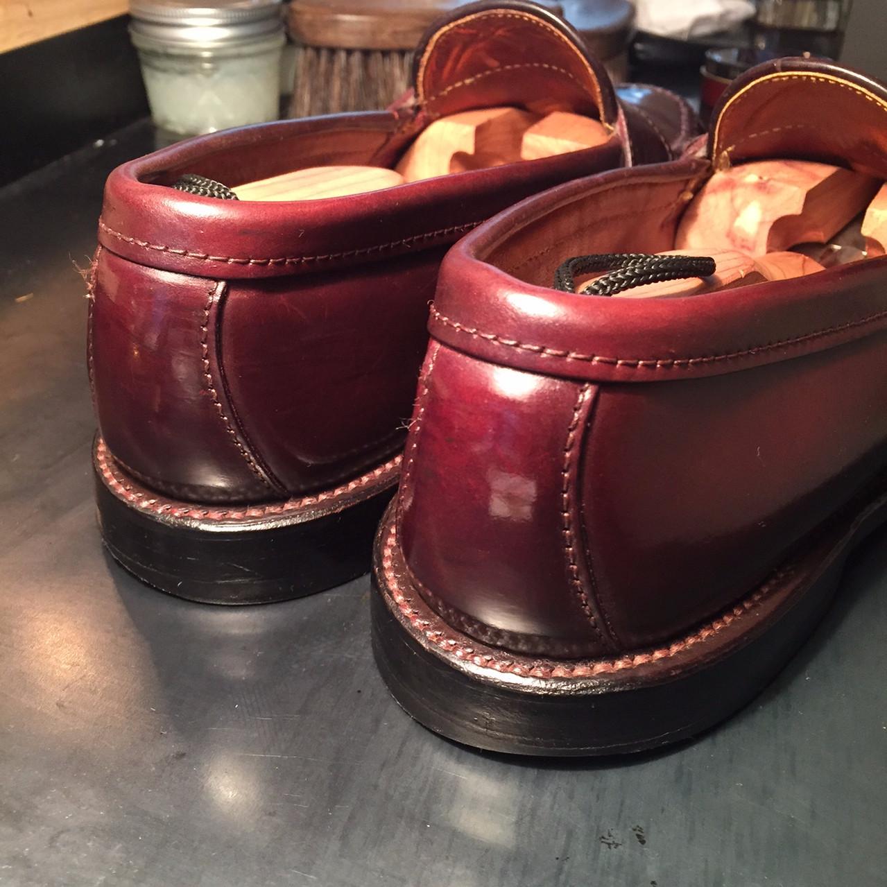 靴磨き After2