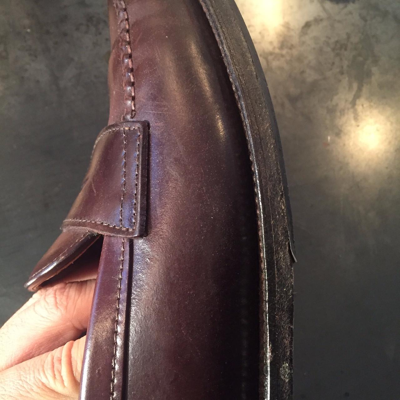 靴磨き Before4