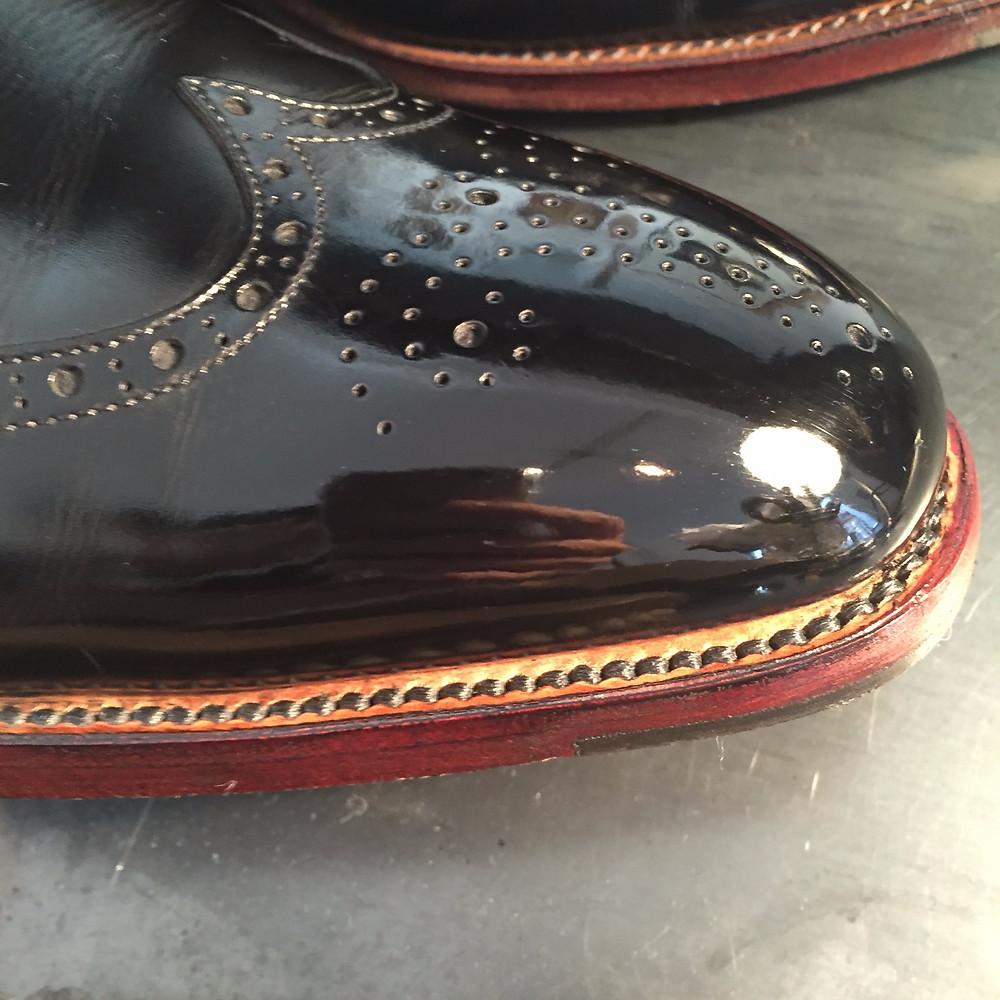 靴磨きAfter