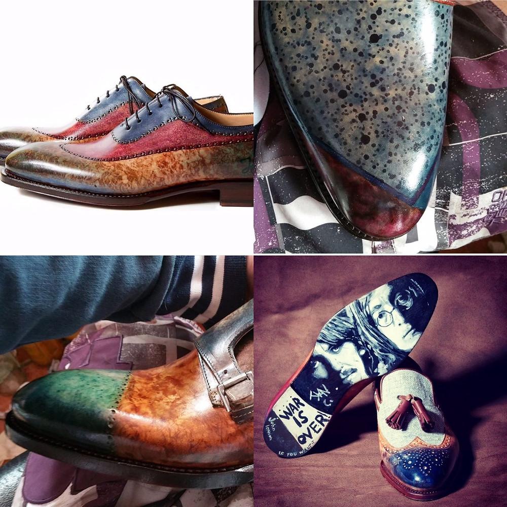 世界の靴磨き職人6 パティーヌ職人