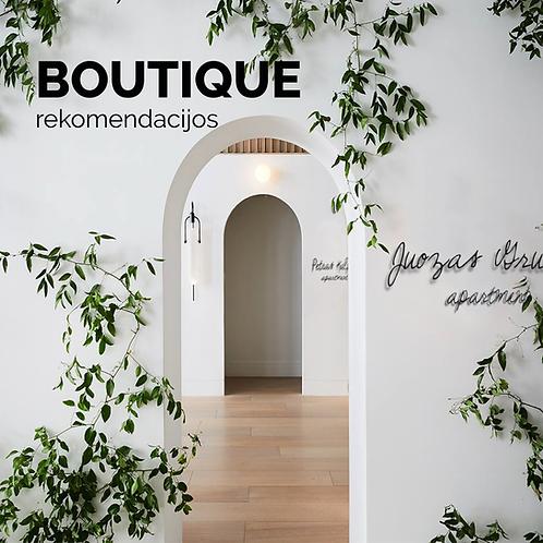 Lietuviškos prabangenybės   boutique rekomendacijos