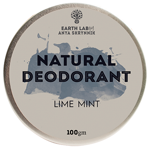 Lime Mint Natural Deodorant