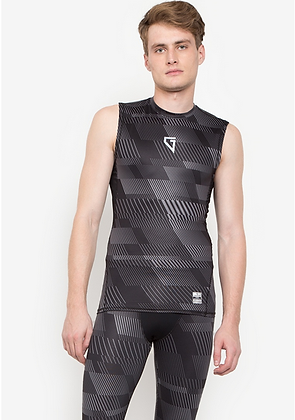 Gametime Men's Print Compression Tank