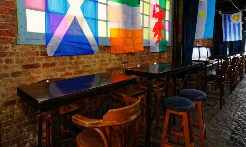 Rear Pub Bar Tables