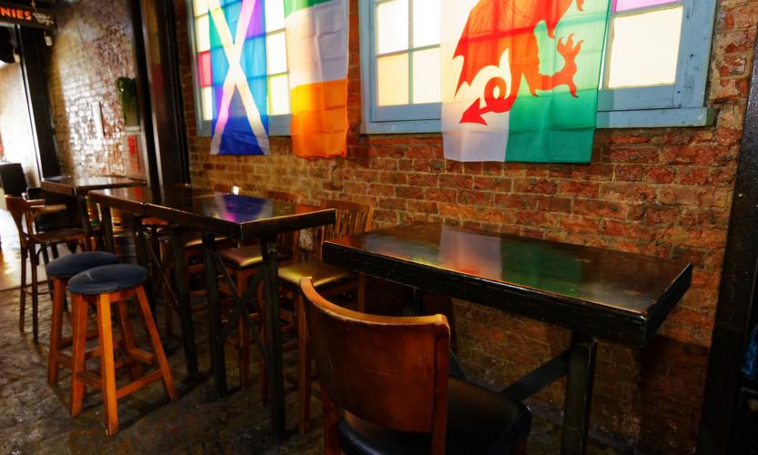 Rear Pub Tables
