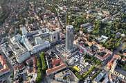 Luftfotografie Jena - Orte, Firmen von oben in einem nderem Blickwinkel zeigen