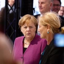 ILA Berlin Air Show, Angela Merkel