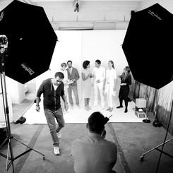White & White Photoshoot