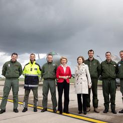 ILA Berlin Air Show Ursula von der Leyen