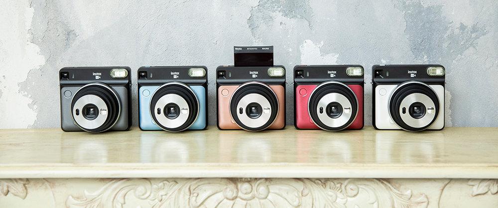 מצלמת אינסטקס SQ6 5 צבעים