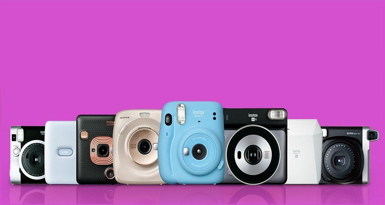 INSTAX FAMILY סוגי מצלמות האינסטקס