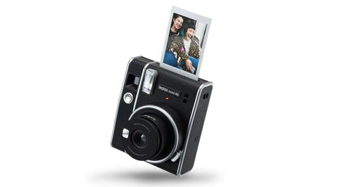 מצלמת אינסטקס מיני 40 עם תמונה