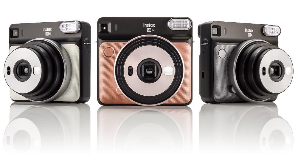 3 מצלמות אינסטקס SQ6 בשלושה צבעים
