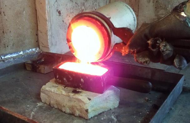 recyclage de l'or, fonderie d'or, fondre de l'or