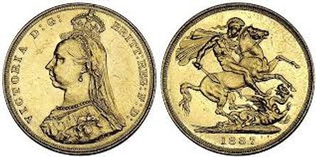 Souverain Anglais - Victoria Gold Coin - pièce d'or Victoria - pièce d'or anglaise - pièce d'or Victoria Del Gra - pièce d'or Elizabeth Regina Fid Def - pièce d'or Georgius - pièce d'or Victoria Dei Gratia - achat vente pièces d'or - achat vente monnaies or - vendre des pièces d'or - vendre des monnaies or - acheter des pièces d'or - acheter des monnaies or - achat d'or