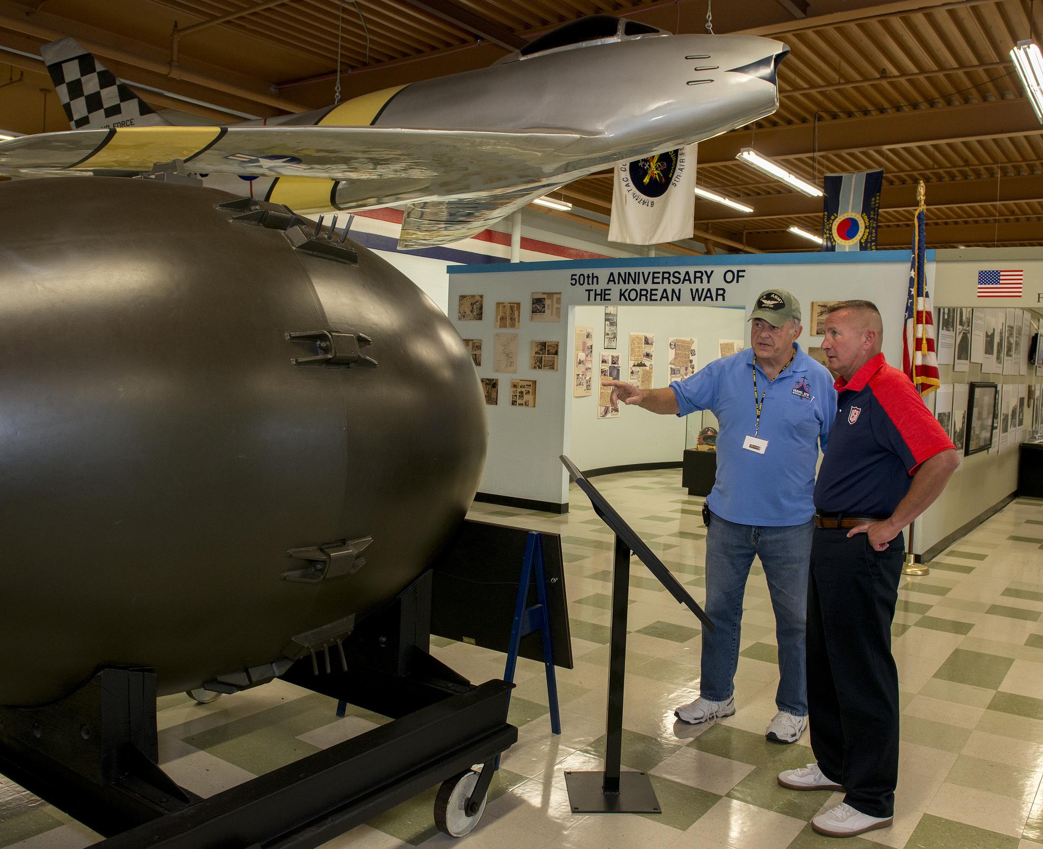 """Fat Man"" Nuclear Device"
