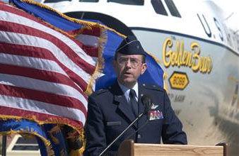 C-141 Golden Bear Dedication Ceremony