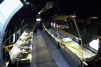 "C-47A ""Skytrain"" Interior"