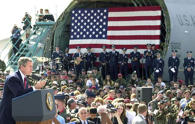 George Bush: October 17, 2001