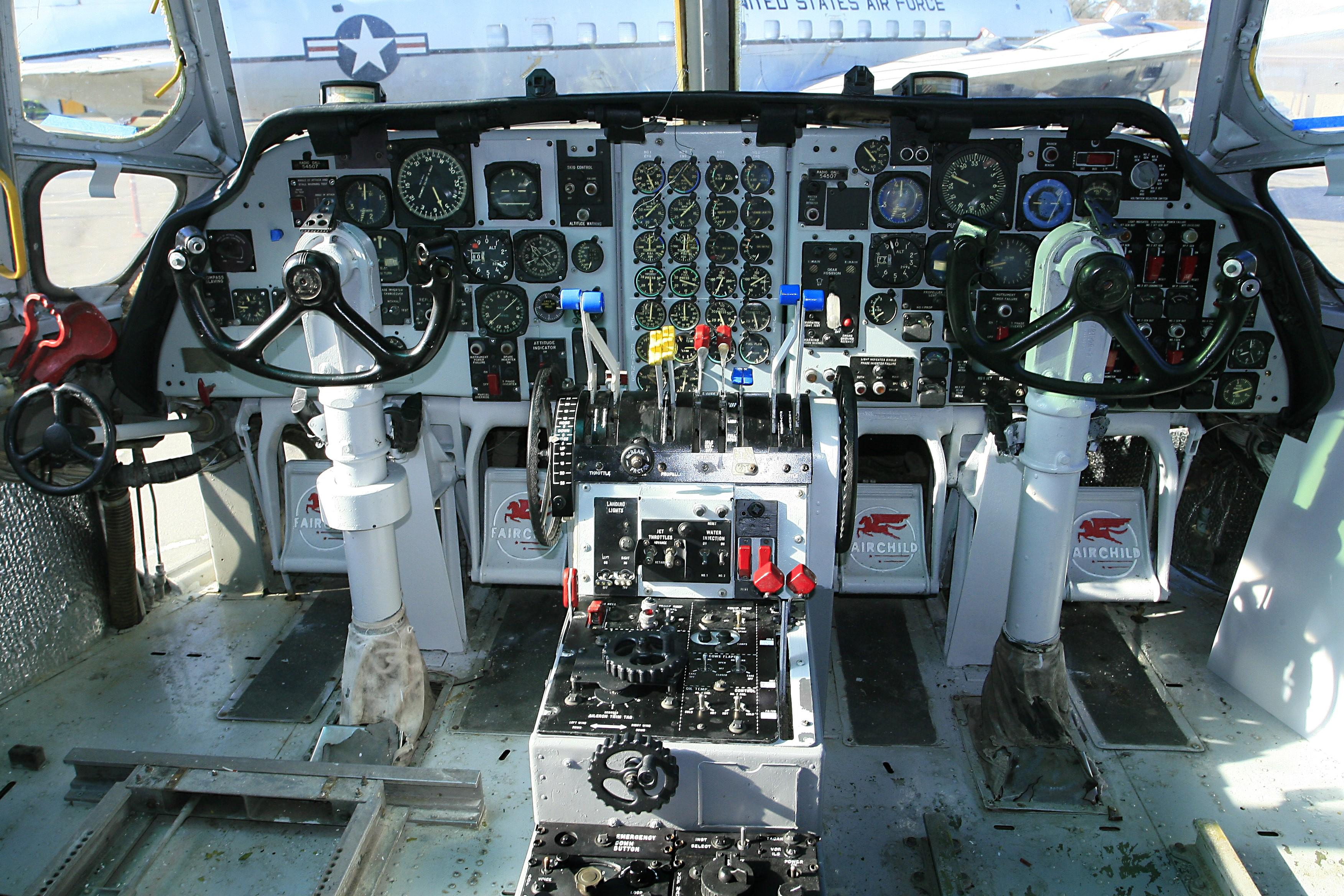 Cockpit After Restoration