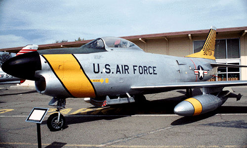 "The Heritage Center's F-86L ""Sabre"""