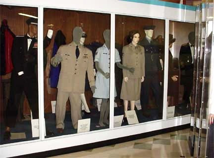 Travis Heritage Center Military Uniform Exhibit