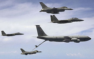 Aerial refueling training mission