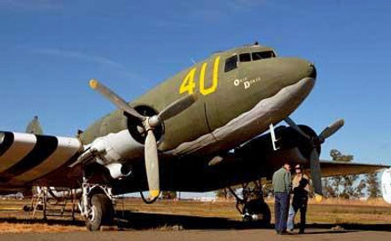 "Heritage Center's C-47A ""Skytrain"""