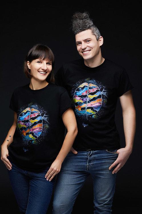Unisex marškinėliai SMEGENYS KOSMOSE