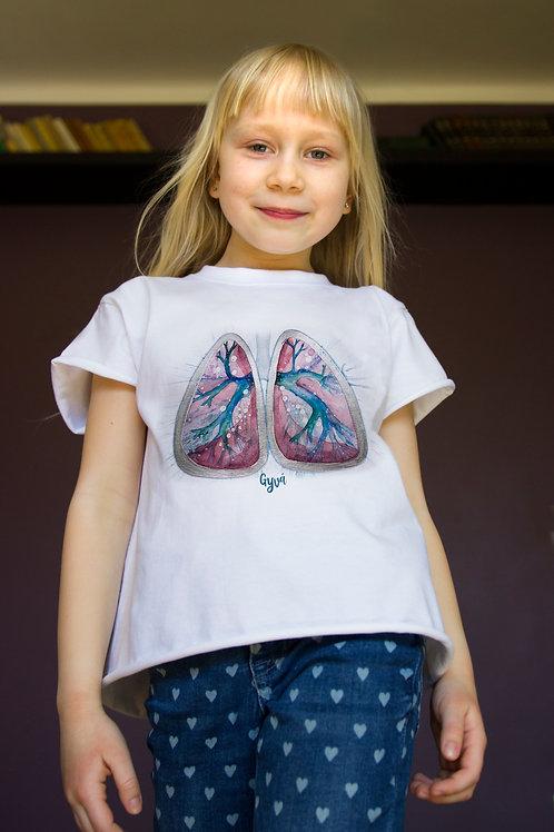 Vaikiški marškinėliai PLAUČIAI