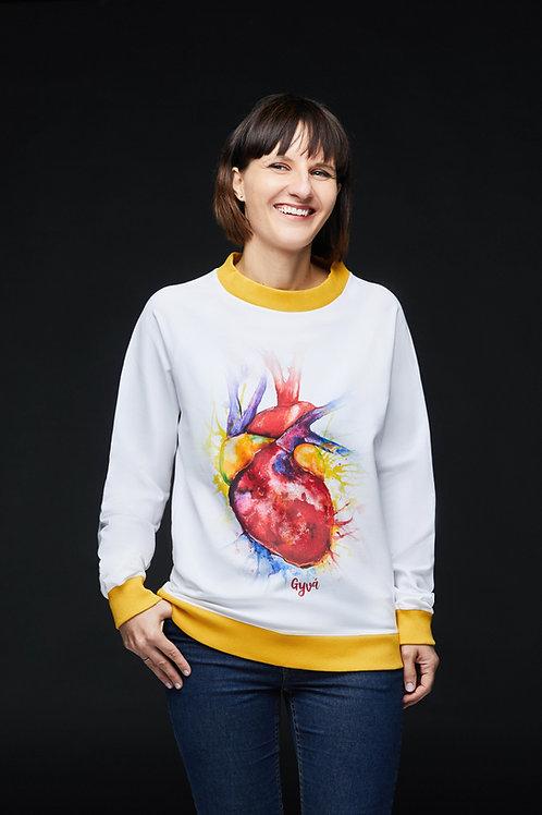 Unisex džemperis – ŠVYTI MANO ŠIRDIS