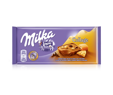 Milka - Collage Caramelo