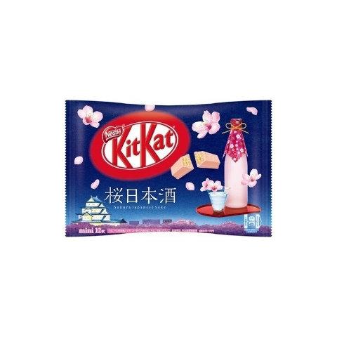 KitKat - Sakura Japanese Sake