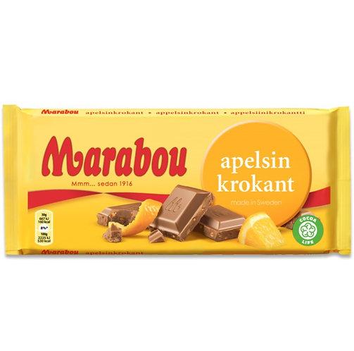 Marabou - Orange Krokant