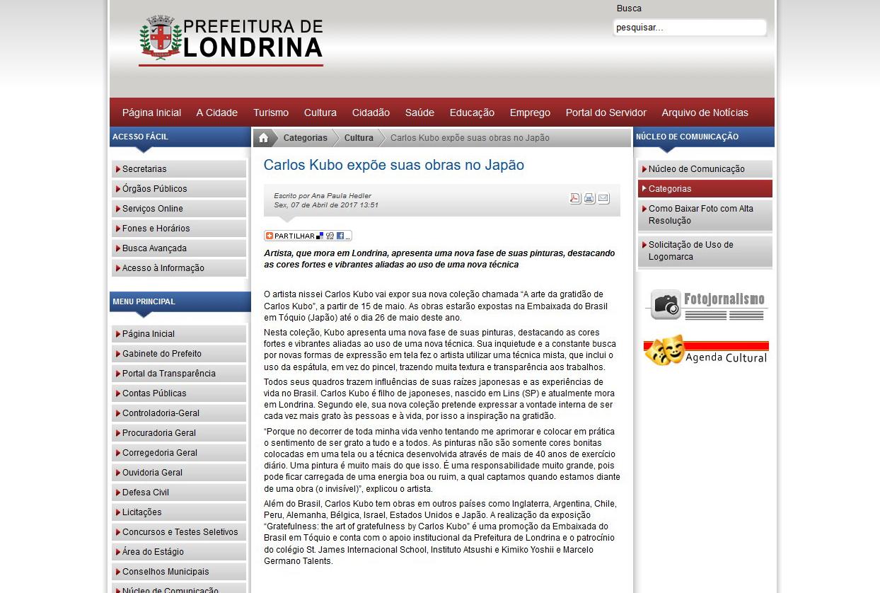 Prefeitura Municipal de Londrina PR