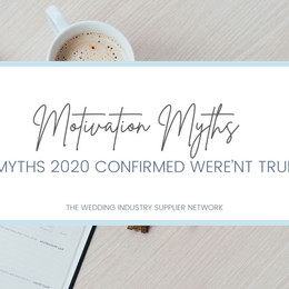 4 Motivation Myths 2020 confirmed weren't true!