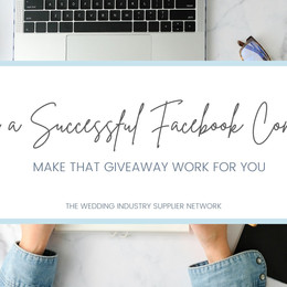 Tips to a successful Facebook competition