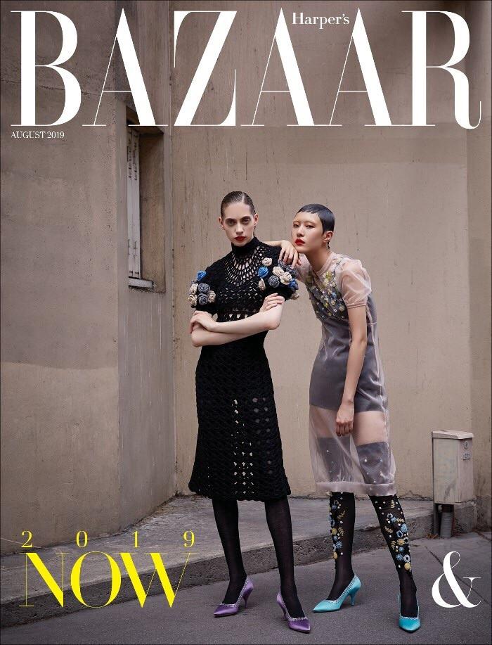 Hapers Bazaar Korea August issue 19'