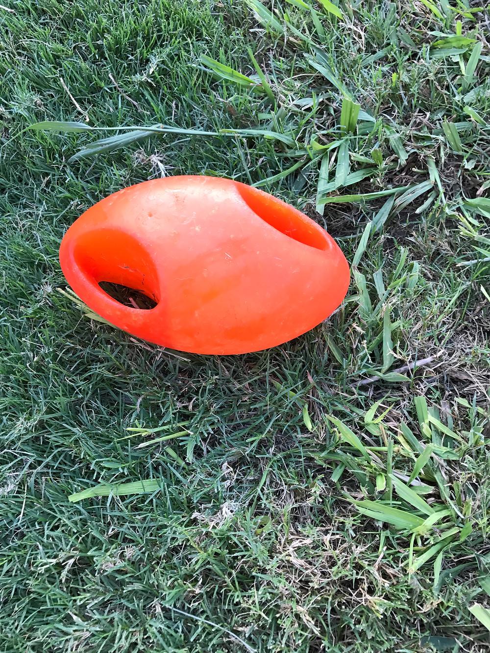 KONG Jumbler Football Toy