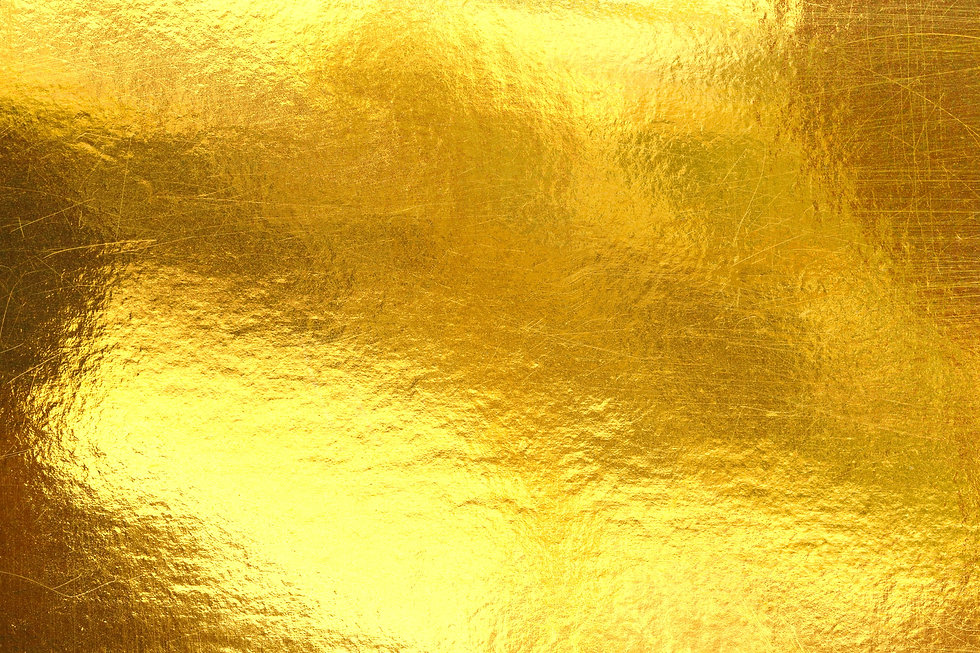 Gold background or texture and Gradients