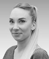 Viestintätoimisto VCA:n graafinen suunnittelija Miia Kerimaa