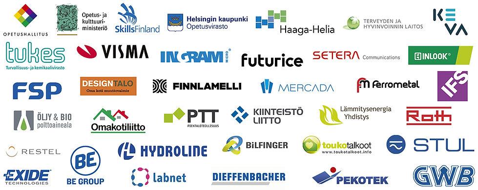 Referenssejä hallinnon, asunto- ja kiinteistöklusterin, ICT:n sekä teollisuuden, kaupan ja logistiikan toimialoilta