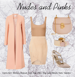 Nudes and Pinks