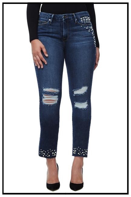 Good American Good Straight Pearls Jeans
